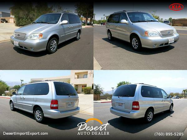 This 2005 KIA Sedona EX Van/Minivan 7 SEATS is PRICED TO SELL!