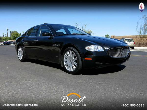 2006 Maserati Quattroporte Sport GT 45.000 miles Luxury only at...