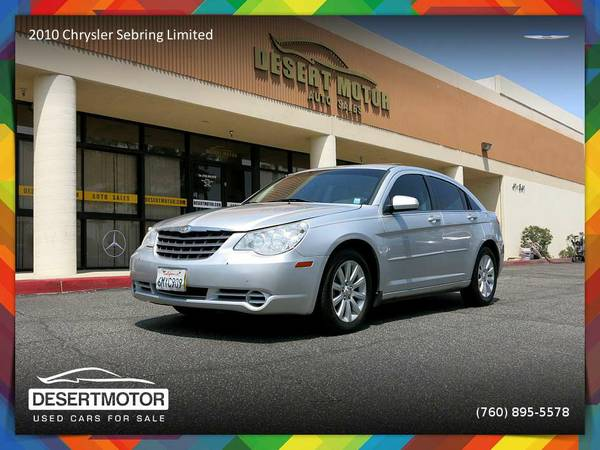 2010 Chrysler Sebring Limited Sedan - PRICE ROLLBACK