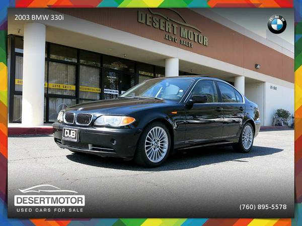 2003 BMW 330i Sedan 93,000 MILES for sale. TEST-DRIVE TODAY