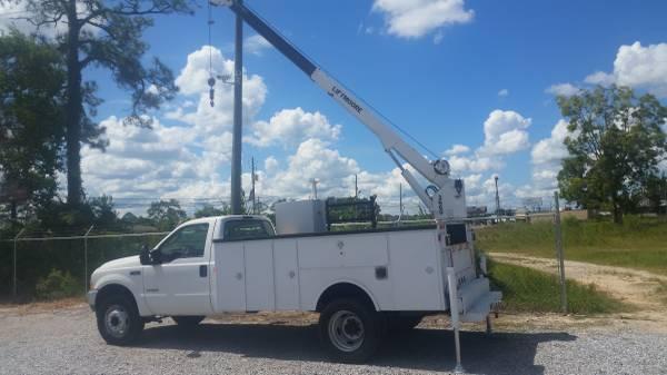 2004 f550 4x4 crane truck