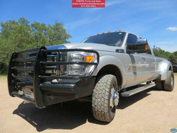 2011 *FORD* *F350* *DRW* LARIAT! DUALLY DIESEL 4X4