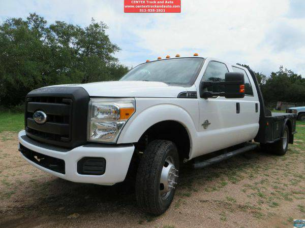 2011 *FORD* *F350* *DUALLY* DIESEL 4X4 FLATBED