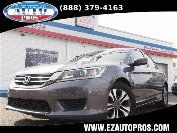 2013 *Honda* *Accord* LX 4dr Sedan CVT