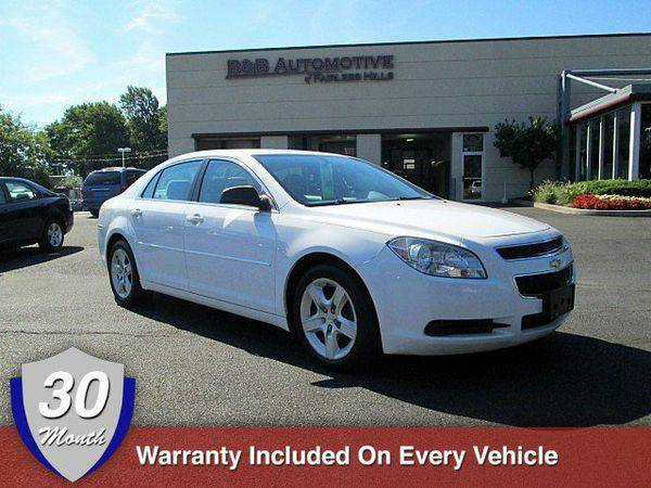 2010 *Chevrolet* *Malibu* LS w/1LS BUY HERE PAY HERE Down Payment...