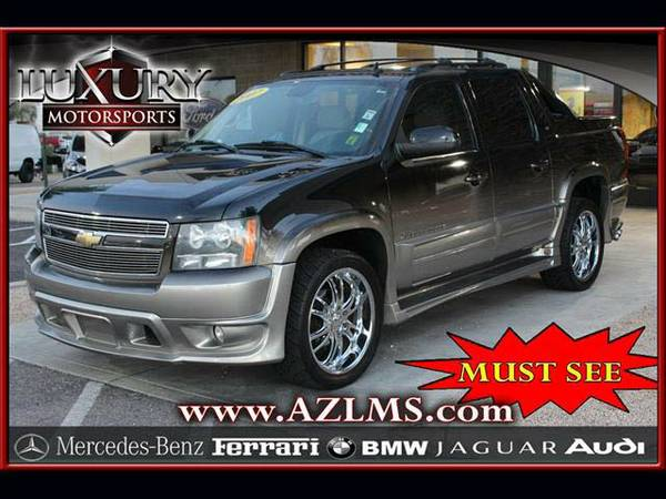*14418- 2007 Chevrolet Avalanche Ultimate LX w/ Navigation 1-Owner! CA