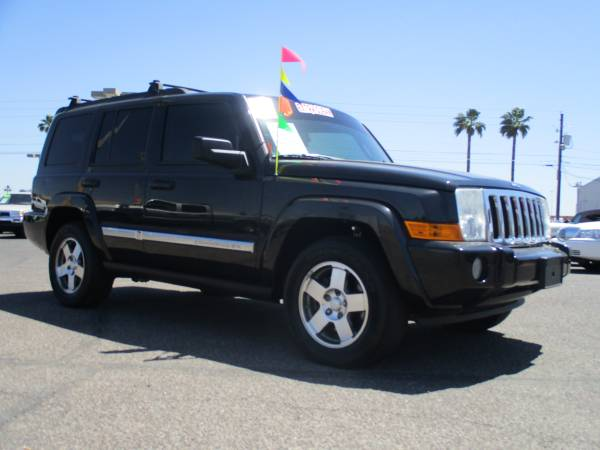 2010 JEEP COMMANDER ** SUPER CLEAN! 100% APPROVED!!!