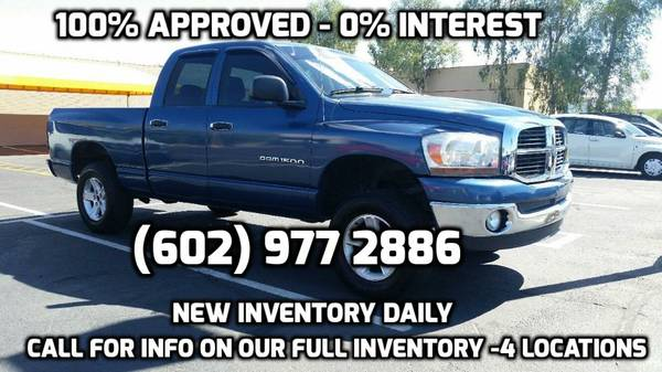 APPROVAL GUARANTEED!! DRIVE TODAY BAD CREDIT OK $500 !! HUGE INVENTORY