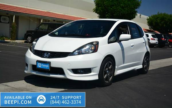 2012 *Honda* *Fit* *5dr HatchbackMan* -$10,999
