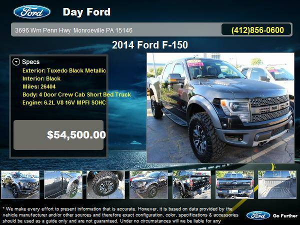 Certified: Stock 16P142A 2014 Ford F-150