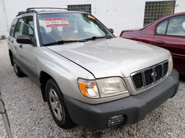 2001 Subaru Forester*AWD*5-Speed*Heat/Cold A/C*
