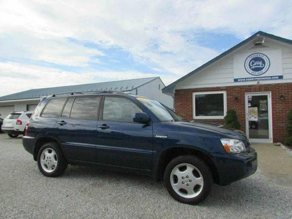 2005 *Toyota* *Highlander* Limited AWD 4dr SUV w/3rd Row - GET...