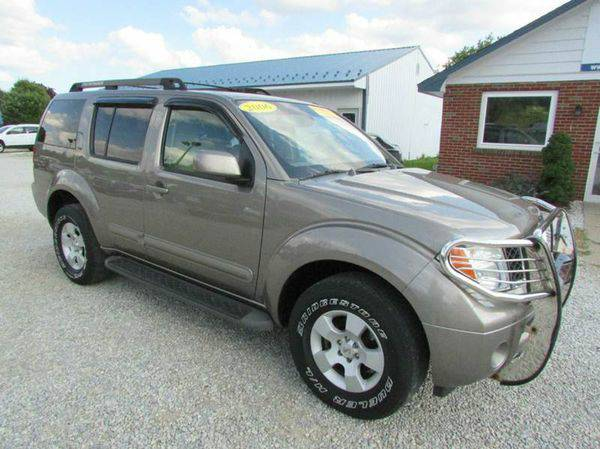 2006 *Nissan* *Pathfinder* S 4dr SUV 4WD - GET APPROVED TODAY!