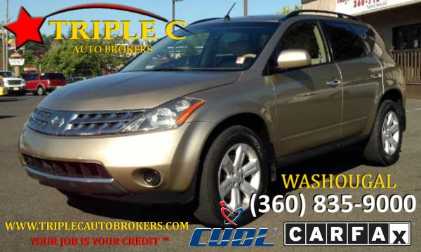 2007 NISSAN MURANO S * AWD * LOW MILES * DRIVE THIS HOME TODAY!