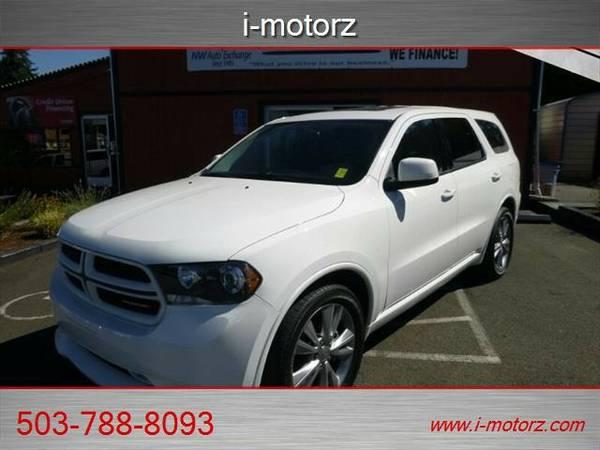 2012 *Dodge* *Durango* *RT SPORT LOW MILES-EZ LOW % FINANCING!!!* SUV