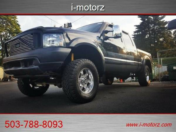 2002 *Ford* *F-350* *LIFTED 7.3 LTR DSL CREW4X4* Truck