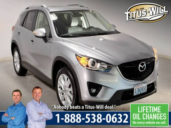 Lowest Price Guarantee - 2015 Mazda CX-5 Grand Touring SUV