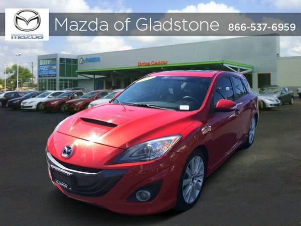 Certified: 2012 Mazda Mazda3 4dr Car Mazdaspeed3 Touring Factory...