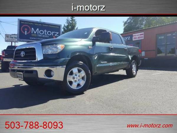 2008 *Toyota* *Tundra* *4dR CREW CAB 4X4 LOADED!* Truck
