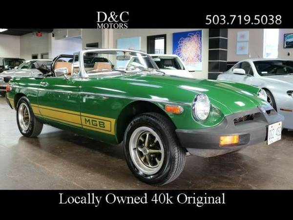1977 *MG* *MGB* *Convertible Low 40K Miles Locally Owned* Convertible