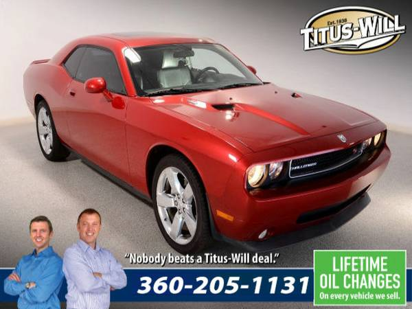 Lowest Price Guarantee - 2009 Dodge Challenger R T Coupe