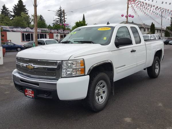 2009 CHEVROLET SILVERADO 1500 EXTENDED CAB / 4WD (3 MONTH WARRENTY)