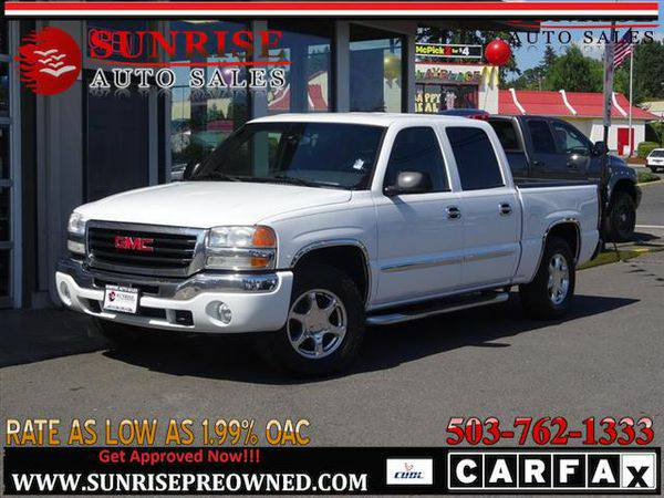 2006 *GMC* *Sierra* *1500* SLE 4dr Crew Cab 4WD NICE TRUCK,...