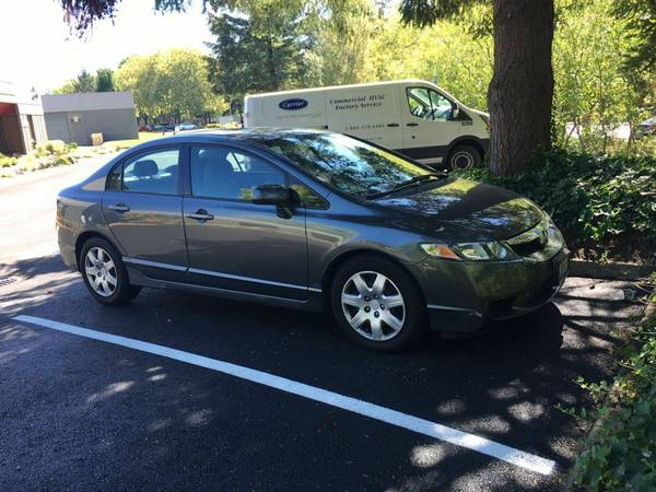 2009 HONDA CIVIC LX, 70K, FIRST OWNER, CLEAN