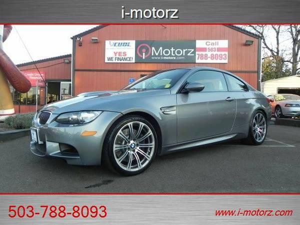 2009 *BMW* *M3* *PREM PKGAS NEW-EZ LOW % FINANCING!!!* Coupe