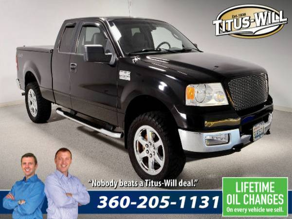 Lowest Price Guarantee - 2005 Ford F-150 Truck