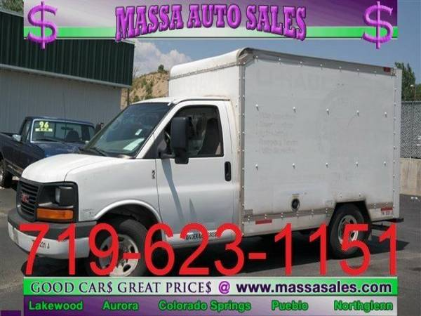 2004 GMC Savana Cutaway 139 WB C6Y Specialty Vehicle