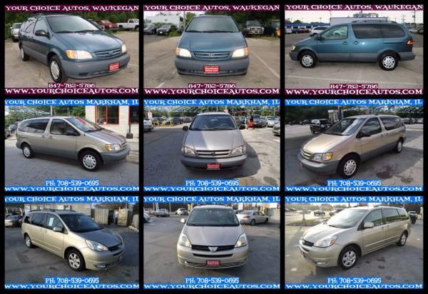 2000-2001-2004 TOYOTA SIENNA V6 MINIVAN 1OWNER LTHR SUNROF KYLS ENTRY