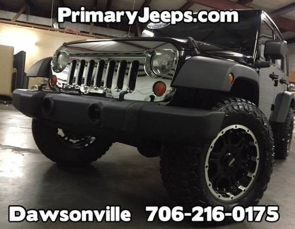 2007 *Jeep* *Wrangler* Unlimited X 4x4 -IN HOUSE FINANCE-FREE...