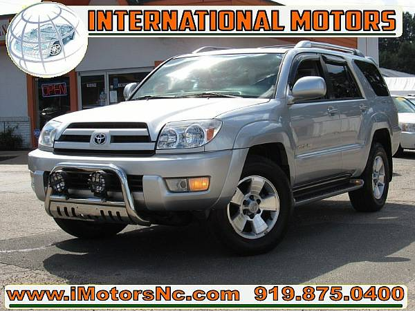 2004 Toyota 4Runner Limited 4WD @@@EXTRA CLEAN*LOADED@@@