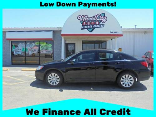 2012 Chrysler 200 - APPLY TODAY! DRIVE TODAY!