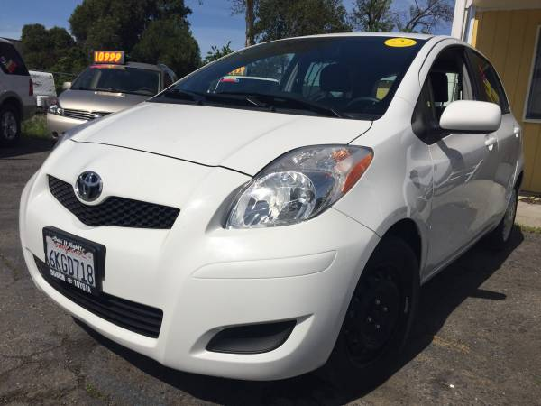 2010 Toyota Yaris Low Miles **$5 DOWN O.A.C. CREDIT UNION SPECIAL**