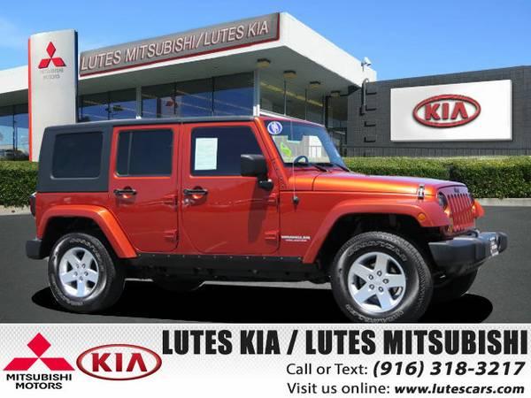 2009 Jeep Wrangler Unlimited Sahara 4X4 *Navigation* SUV