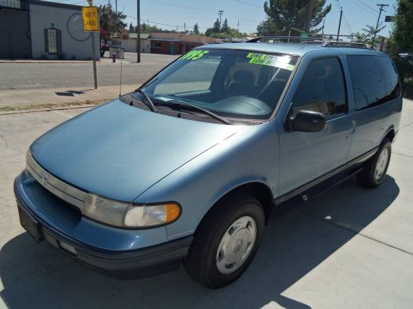 1994 MERCURY VILLAGER LS MINIVAN, LOW MILES !