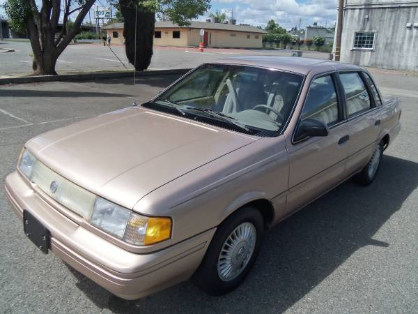 1993 MERCURY TOPAZ GS, ONLY 75,000 MILES, REDUCED !
