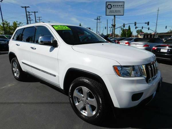 2013 Jeep Grand Cherokee White FOR SALE - GREAT PRICE!!