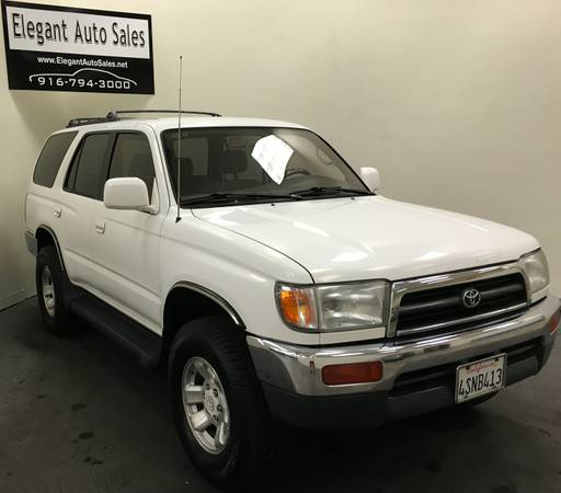 1998 TOYOTA 4RUNNER * 4WD SYSTEM + TOW PACKAGE * 3 MONTH WARRANTY *