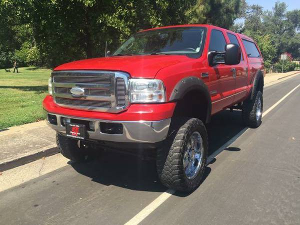 2005 Ford F250 Super Duty Lariat 4WD*FX4 Lifted*Amarillo*(Financing)