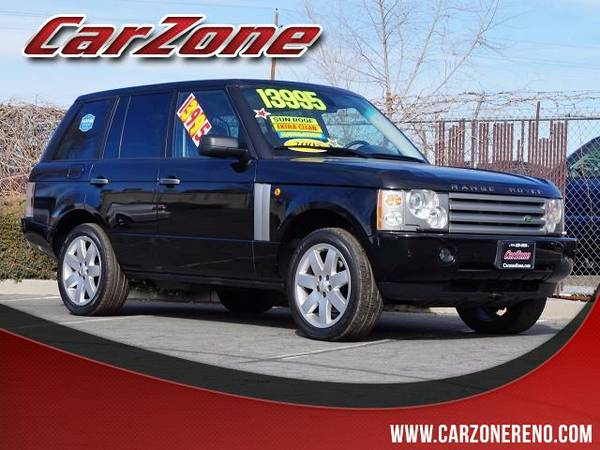 2005 Land Rover Range Rover Black SEE IT TODAY!