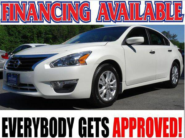 2014 *NISSAN* *ALTIMA* 2.5 S WE FINANCE EVERYONE! CALL NOW!!!