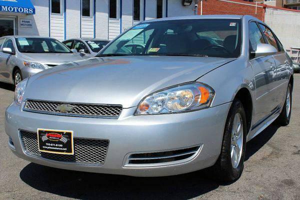 2012 *Chevrolet* *Impala* LS Fleet 4dr Sedan