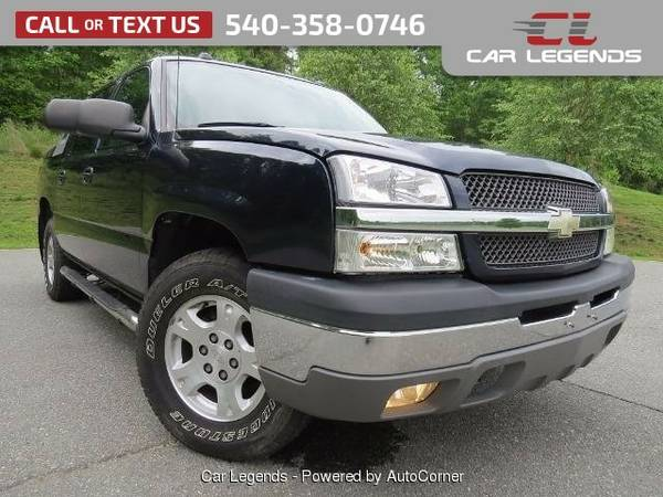2004 Chevrolet Avalanche SPORT UTILITY 4-DR Truck Avalanche Chevrolet