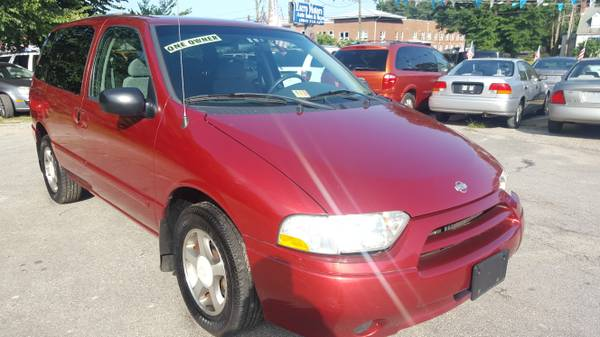 2001 NISSAN QUEST 120K ONE OWNER