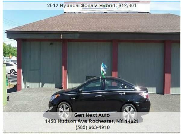 2012 HYUNDAI SONATA HYBRID BLUE REDUCED