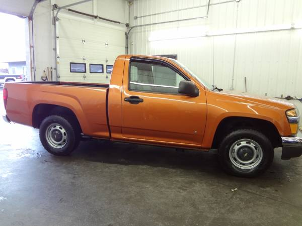 chevy colorado 2wd 4cyl 5speed