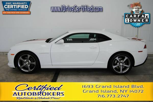 2014 *Chevy Camaro SS* Premium-Like New *Manual V8 6.2L*